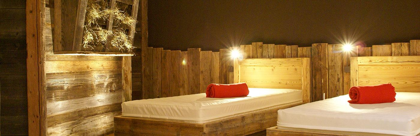 Hotel Santer waterbed wellness in Dobbiaco