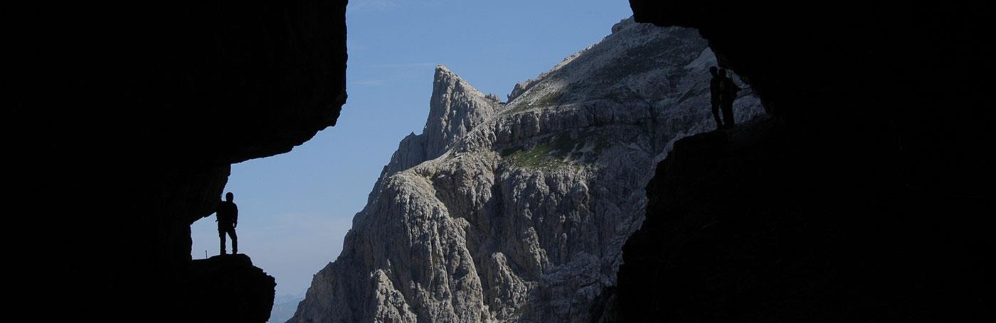 Hotel Santer climbing in the Dolomites