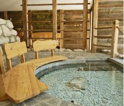 Hotel Santer Kneippanlage Wellness in Toblach