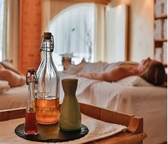Hotel Santer koppelt massage