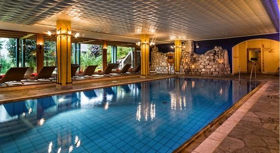 Hotel Santer Schwimmbad Wellness in Toblach